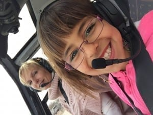 Fly It Forward® flight in Albuquerque with Dianna Stanger