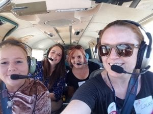 Fly It Forward flight in Bathurst, Australia