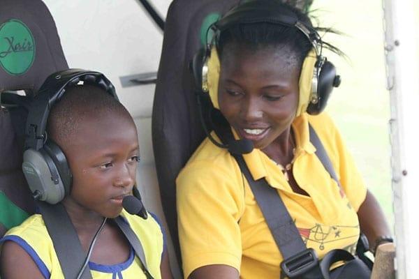 Fly It Forward® flight in Ghana