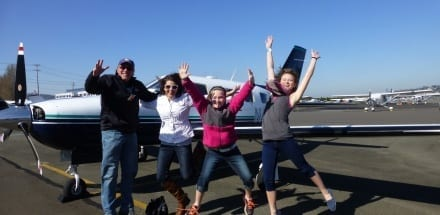 Fly It Forward® flight in in Seattle, USA