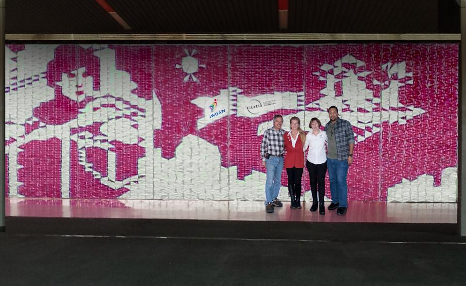Mural PaperPlanes Mirabel 20201
